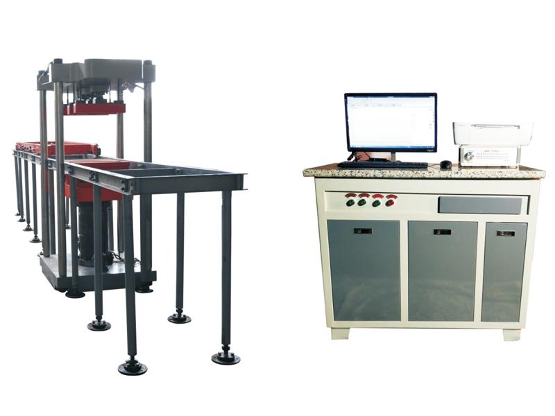 浙江WAW-600B型微机控制电液伺服轨枕试验机